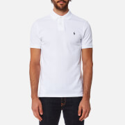 Polo Ralph Lauren Men's Custom Fit Polo Shirt - White