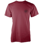 Native Shore Men's Authentic Shore Pocket Print T-Shirt - Burgundy