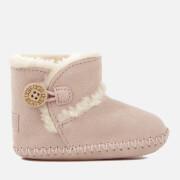 UGG Babies' Lemmy II Suede Pre-Walker Boots - Baby Pink