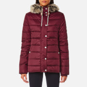 Barbour Women's Shipper Quilt Coat - Carmine