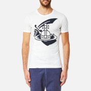 Vivienne Westwood Anglomania Men's Classic T-Shirt - Navy/White