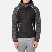 Superdry Sport Men's Sport Blizzard Zip Hoody - Black Grit