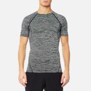 Superdry Sport Men's Sport Athletic Vent T-Shirt - Black Grit Stripe