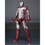 Figurine Iron Man 2 S.H. Figuarts Iron Man Mark V & Hall of Armor Set 15 cm