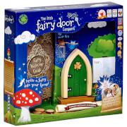 The Irish Fairy Door Company Arched Fairy Door - Green (Slim)