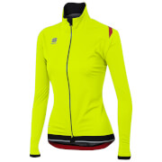 Sportful Women's Fiandre Ultimate Windstopper Jacket - Yellow Fluo/Black