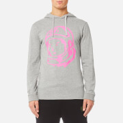 Billionaire Boys Club Men's Helmet Long Sleeve Hooded T-Shirt - Heather Grey