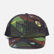 Billionaire Boys Club Men's Camo Arch Trucker Cap - Black Camo