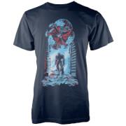 T-Shirt Homme Fallen Heros - Bleu Marine