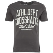 Crosshatch Men's Truman T-Shirt - Magnet