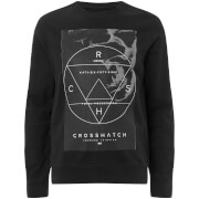 Crosshatch Men's Zerrick Sweatshirt - Black