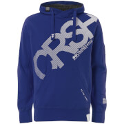 Sweat à Capuche Homme Intersink Crosshatch - Bleu
