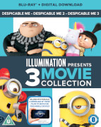 Despicable Me 1-3 Boxset (Digital Download)