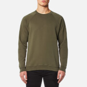 Folk Men's Raglan Sweatshirt - Military Green