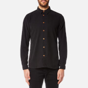 Folk Men's Baby Cord Shirt - Charcoal