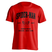 Marvel Spider-Man Homecoming Queens NY T-Shirt - Rot