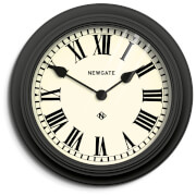 Newgate Theatre Wall Clock - Black