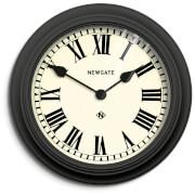 Newgate Theatre Wall Clock - Black
