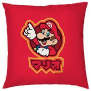 Nintendo Mario Kanji Cushion Cover