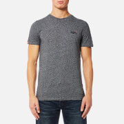 Superdry Men's Orange Label Vintage T-Shirt - Track Charcoal Grit