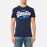 Superdry Men's Vintage Logo Duo T-Shirt - Snowy Navy