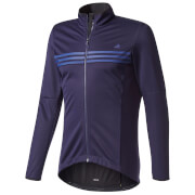 adidas Men's Warmtefront Long Sleeve Jacket - Navy