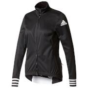 adidas Women's Adistar Long Sleeve Winter Jersey - Black