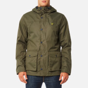 Lyle & Scott Men's Micro Fleece Lined Jacket - Olive