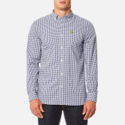 Lyle & Scott Men's Gingham Shirt - Navy