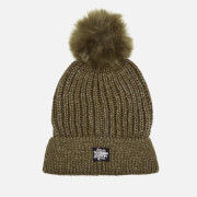 Superdry Women's Aries Sparkle Bobble Hat - Khaki