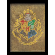 Harry Potter Hogwarts Crest 30 x 40cm Gel Coat Prints