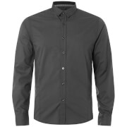 Brave Soul Men's Tudor Shirt - Charcoal