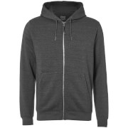 D-Struct Men's Zip Through Hoody - Charcoal Marl