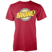 Banana Men's Red T-Shirt