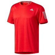 adidas Men's Response Running T-Shirt - Red