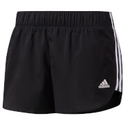 adidas Women's Essentials Running Shorts - Black/White