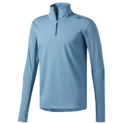 adidas Men's Supernova 1/4 Zip Long Sleeved Running Top - Dark Blue