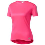 adidas Women's Response Running T-Shirt - Pink
