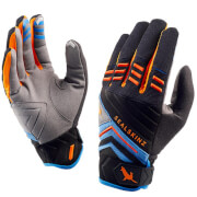 Sealskinz Dragon Eye Trail Gloves - Black/Blue/Orange