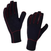 Sealskinz Neoprene Gloves - Black/Red