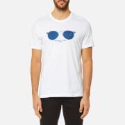Michael Kors Men's Houndstooth Aviator Graphic T-Shirt - White