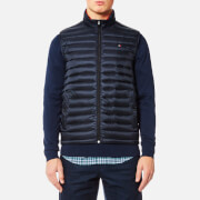 Tommy Hilfiger Men's Lightweight Packable Down Vest - Sky Captain