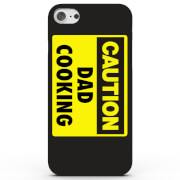 Caution Dad Cooking Phone Case for iPhone & Android - 4 Colours