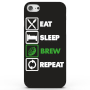 Eat Sleep Brew Repeat Phone Case for iPhone & Android - 4 Colours