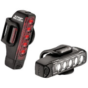 Lezyne Strip Drive 300/150 Lightset - Black