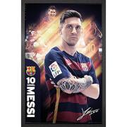 Barcelona Messi 15/16 - 61 x 91.5cm Framed Maxi Poster