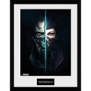 Dishonored 2 Faces - 16 x 12 Inches Framed Photograph