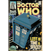 Doctor Who Tardis Comic - 61 x 91.5cm Maxi Poster