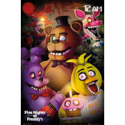 Five Nights at Freddy's Group - 61 x 91.5cm Maxi Poster