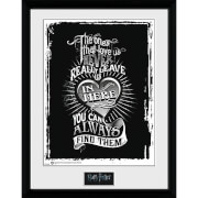 Harry Potter Love - 16 x 12 Inches Framed Photograph